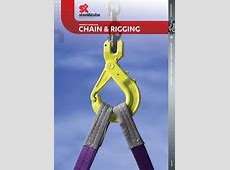Chain and Rigging Product Catalogue steel&tube
