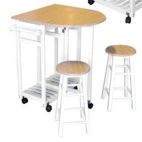 cdiscount table de cuisine table de bar 2 tabourets encastrables achat vente
