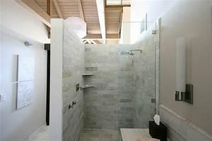 la cabine de douche pour la salle de bains moderne With carreaux douche