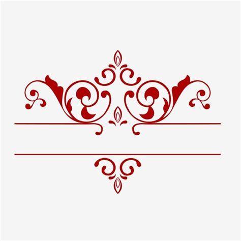 red dividing  border straight  red dividing