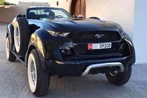 Prix D Une Mustang : une ford mustang 4x4 rallong e et faite sur mesure l 39 argus ~ Medecine-chirurgie-esthetiques.com Avis de Voitures