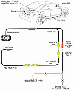 Wiring Diagram For Reverse Camera