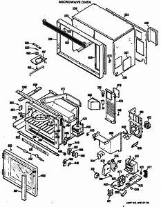 Microwave Oven Diagram  U0026 Parts List For Model Rk961g01