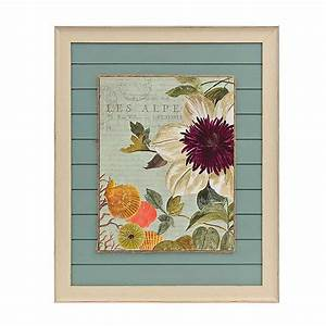 Seaside Botanical I Framed Art Print Kirklands