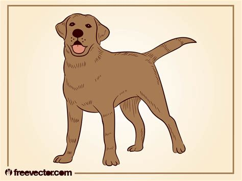 dog illustration  vectors ui