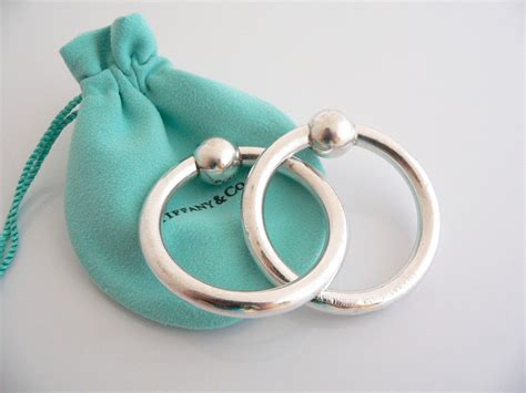 Tiffany & Co Silver Double Circle Baby Rattle Teether Rattle Rare Etsy Tiffany Jewelry Ocean Quality Bonney Daughter Of Whitebeard Ace Sister Return Policy One Piece Reddit Turkish