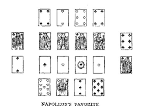 how to play solitaire games napoleon s favorite double