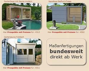 Saunahaus Selber Bauen : saunahaus selber bauen im garten bausatz kosten von ~ Whattoseeinmadrid.com Haus und Dekorationen