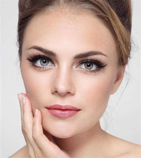 perfect eyebrow shape ideas  oval face shapes