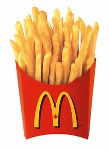McDonald's french fries are served hot and generally eaten ...