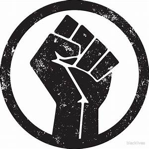 """""""BLACK POWER RAISED FIST"""" Posters by blacklives Redbubble"""