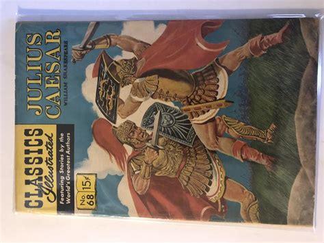 Vintage Classics Illustrated Comic Book Julius Caesar
