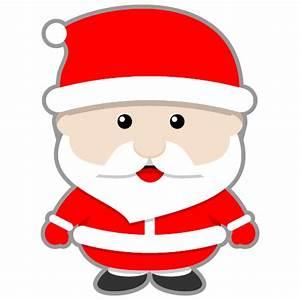 Free Cute Cartoon Santa Claus Clip Art