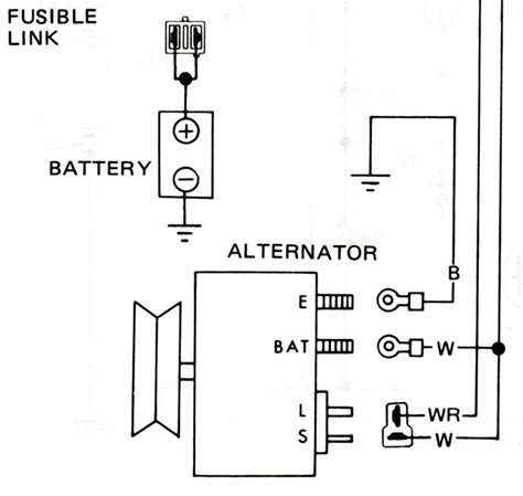 Hitachi Alternator Wiring Diagram by Alternator Wiring Diagram Hitachi Wiring Diagram