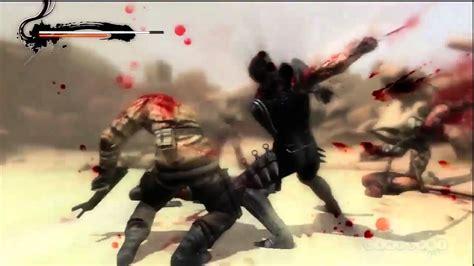 Blood And Sand Ninja Gaiden 3 Gameplay Ps3 Youtube