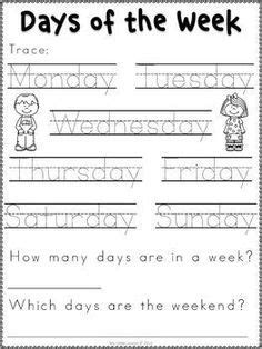days   week activities images days