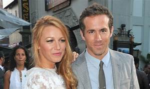 """Blake Lively is a """"comfort"""" to her new husband Ryan ..."""