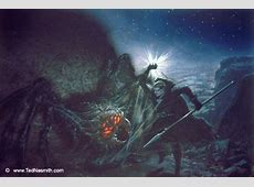 Ungoliant Demands the Silmarils – Ted Nasmith