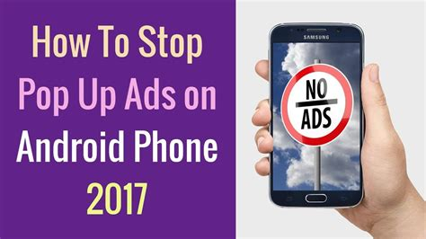 how to stop pop up ads on android phone 2017 opt out of ads