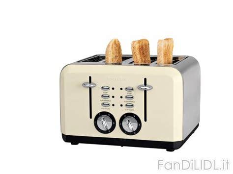 offerte tostapane tostapane 4 fessure cucina fan di lidl