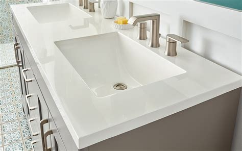 custom vanity countertops best bathroom vanity tops the home depot