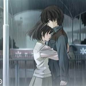 Cute Korean Anime Couples In The Rain Pictures, Images ...