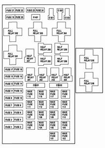 Lincoln Blackwood  2002  - Fuse Box Diagram