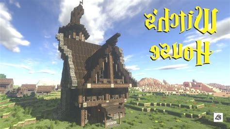 witchs house minecraft lets build  yout build house lets minecraft