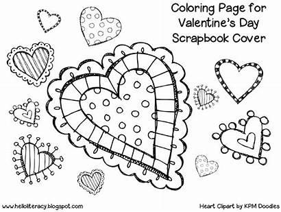 Coloring Grade Valentine Pages Valentines Scrapbook 1st