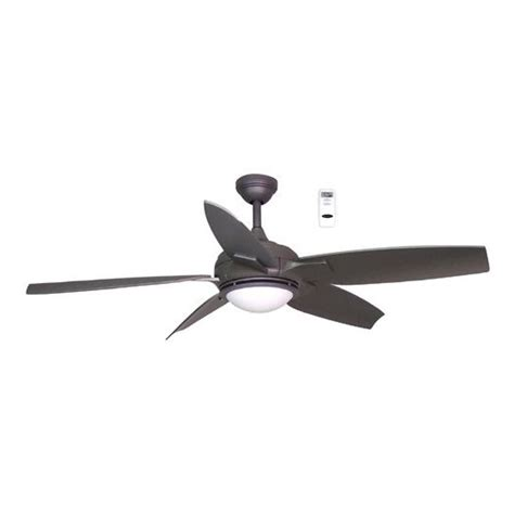 harbor breeze 52 in twister titanium ceiling fan with