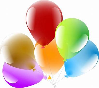 Balloons Celebration Party Floating Pixabay Ballons Clipart