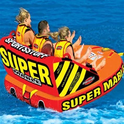 Inner Tubes For Pulling Behind Boats by Inflatable Water Tube Boat Tow Toy Lake Pool Beach River