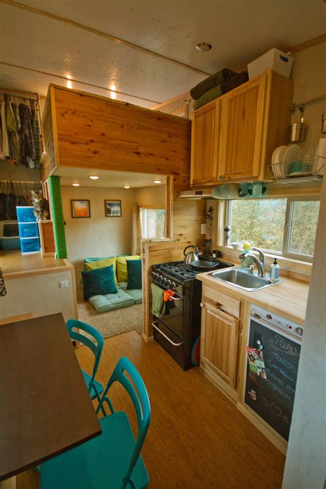 tiny house town  lucky house  sq ft