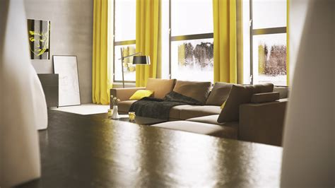 mellow yellow 7 soothing apartments with accents