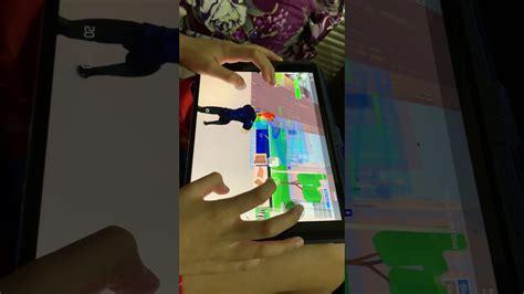 playing strucid  ipad youtube
