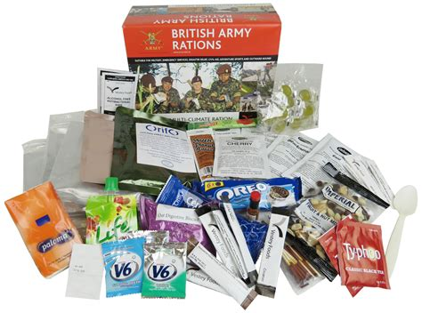 pack cuisine army 24hr ration pack menu 2