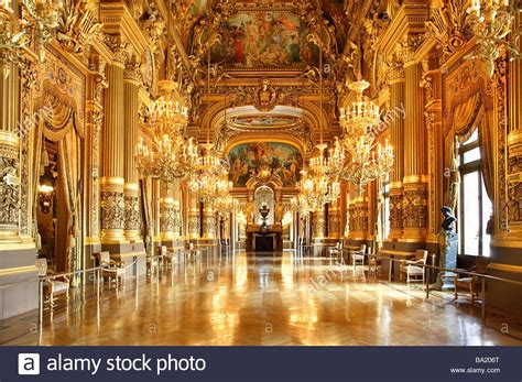 Grand Foyer by Grand Foyer Opera Garnier Stock Photo 23401024 Alamy
