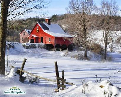 Country Christmas Farm Scenes Desktop Winter Barn