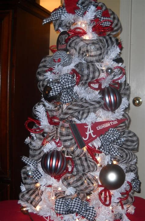 Alabama Crimson Tide Christmas Tree