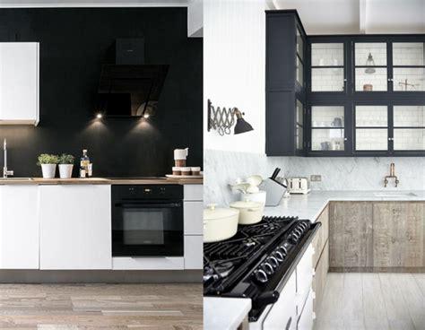 mur noir cuisine ophrey com cuisine blanche mur noir prélèvement d