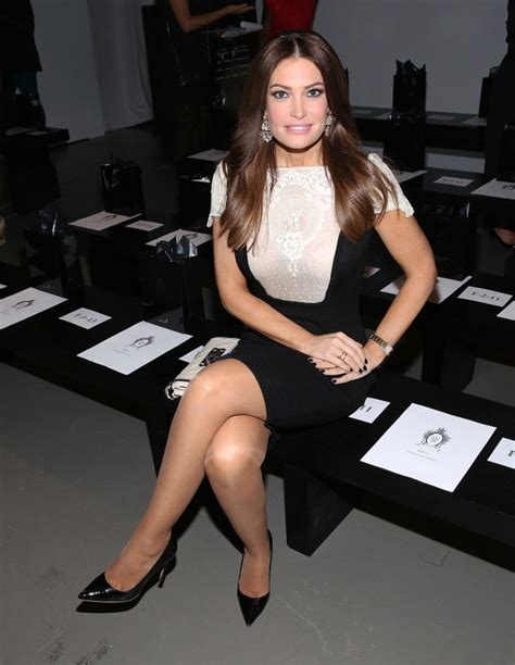 kimberly guilfoyle fox september legs row front zang toi york week worth trump newsom office attends married everything know need