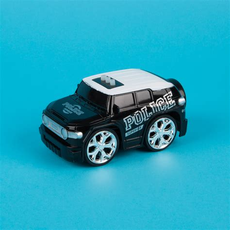 Motorised Toy Race Car With Lights And Sound Black