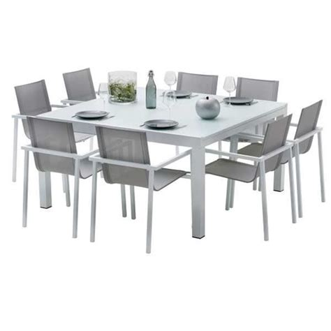 table et chaise salon ensemble table et chaises de jardin extensibles carre