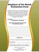 Employee Of The Month Quotes QuotesGram Best Photos Of Employee Recognition Nomination Letter Recommendation Letter For Best Employee Award Nomination Best Photos Of Employee Letter Of The Month Employee Of