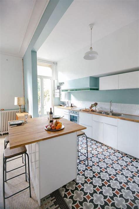cuisine couleur blanche papier peint pour cuisine tendance 6 cuisine blanche
