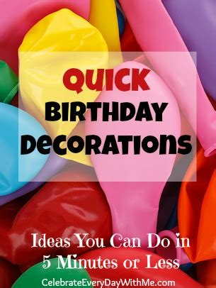 how to decorate office at birthday decorations celebrate every day with me