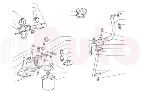 fiat  coupe oelkreislauf ersatzteile riauto
