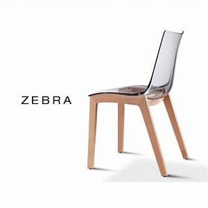 Chaise Bois Design : chaise coque pieds bois zebra assise plastique transparente ou fum lot de 12 pi ces ~ Teatrodelosmanantiales.com Idées de Décoration