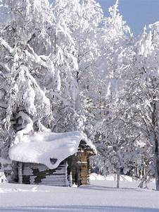 Winter cabin... | Log Cabins | Pinterest | Beautiful ...