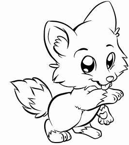 Desenhos De Raposas Para Imprimir E Colorir Animais Para